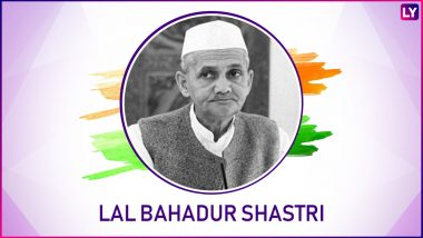 Lal Bahadur Shastri Ji's Birth Anniversary: 'Jai Jawan, Jai Kisan' and Other Inspirational Quotes by the Second PM of India