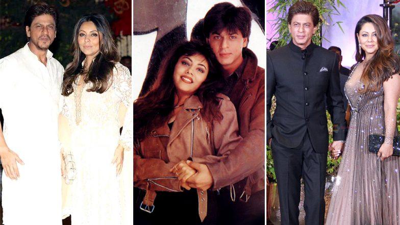Shahrukh khan gauri marriage photos