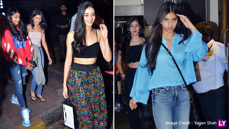 Ananya Panday's 20th Birthday Celebration Pics With BFF Suhana Khan and Shanaya Kapoor Are Going Viral for the Right Reasons!