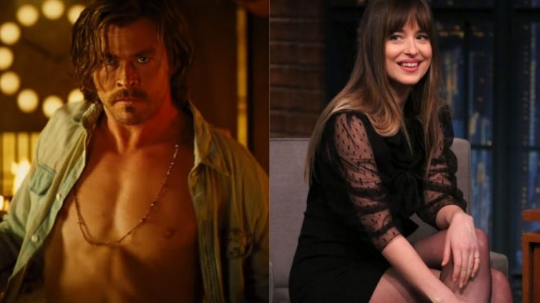 Dakota Johnson Was Distracted by Chris Hemsworth's HOT Body, We Don't Blame Her – Watch Video