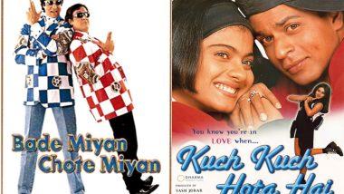 Did You Know: Govinda-Amitabh Bachchan Starrer Bade Miyan Chote Miyan Released Alongside Shah Rukh Khan's Kuch Kuch Hota Hai and Even Had a Bigger Box-Office Opening?