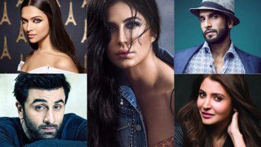 Deepika Padukone and Ranbir Kapoor Don't, But Ranveer Singh and Anushka Sharma Make It to Katrina Kaif's Best Dressed List