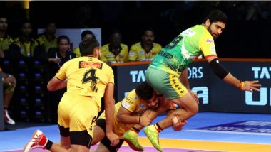 PKL 2018-19 Video Highlights: Telugu Titans Pip Puneri Paltan in Inter-Zonal Battle