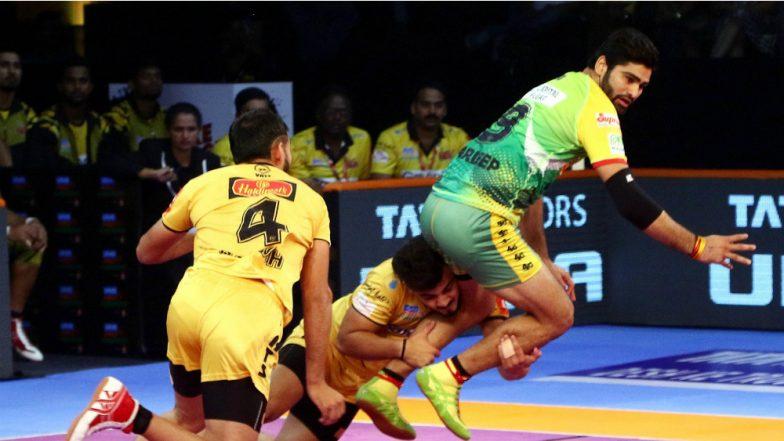 PKL 2018-19 Video Highlights: Telugu Titans Pip Puneri Paltan in Inter-Zonal Battle