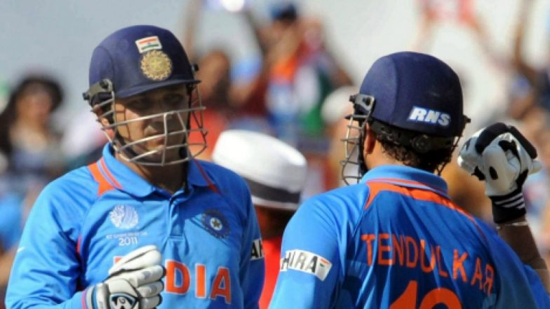 Virender Sehwag Turns 40: Sachin Tendulkar Wishes Viru in a Unique Special Style!