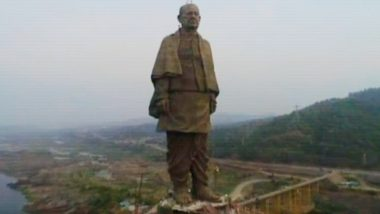 Statue of Unity of Sardar Vallabhbhai Patel: Know Facts About The World's Tallest Statue in Gujarat, Watch Video