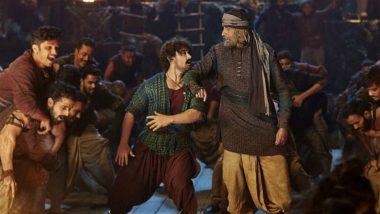 Amitabh Bachchan & Aamir Khan Remind Us of 'Lambu Ji Lambu Ji Bolo Tingu Ji' in This New Still From Thugs of Hindostan Song Vashmalle