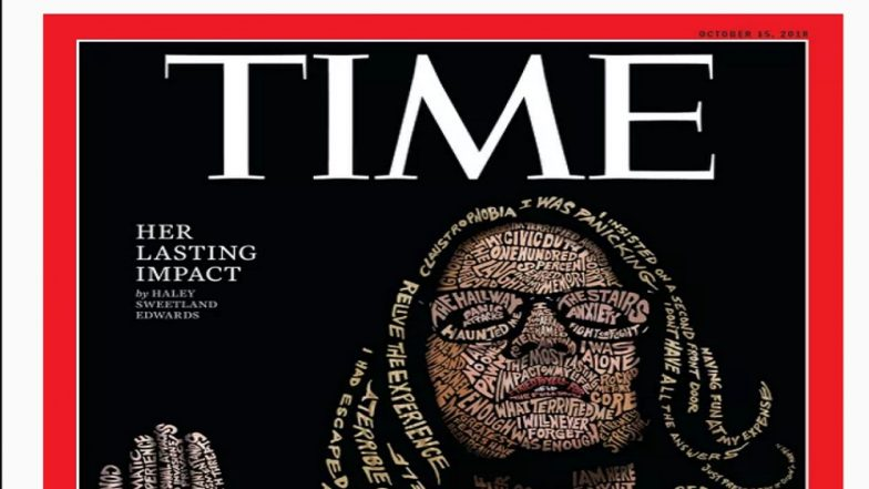 Time Magazine Puts Christine Blasey Ford on Its Cover
