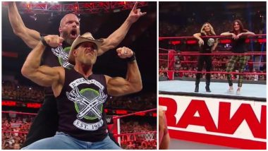 WWE RAW Results and Video Highlights, October 8, 2018: Triple H & Shawn Michaels Bring DX Back, Trish Stratus and Lita Return, and Kurt Angle Pays a Surprise Visit!