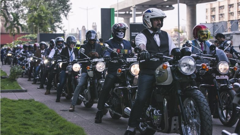 Triumph Motorcycle India Organised Distinguished Gentleman's Ride Across India to Create Awareness on Prostate Cancer