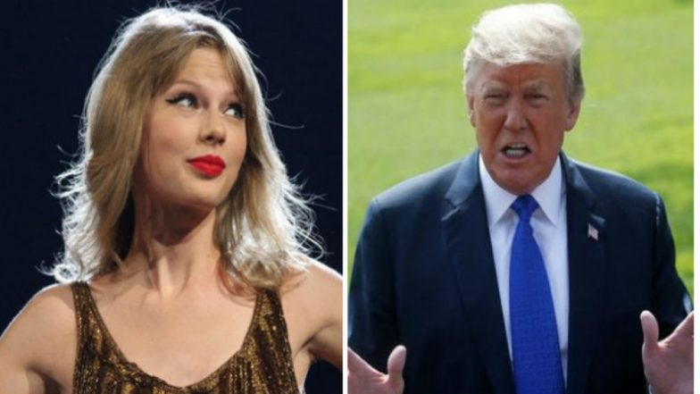 US President Donald Trump Likes Taylor Swift's Music 'About 25 Per Cent Less Now'