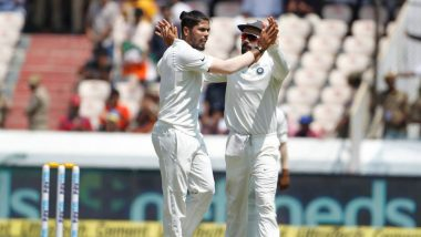 Umesh Yadav's Fifer Helps India Bundle West Indies for 311 in First Innings of IND vs WI 2nd Test
