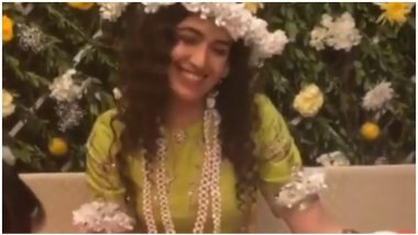 Yuvika Chaudhary Looks Like The Happiest Bride Ever On Her Mehendi Ceremony - Watch INSIDE Videos