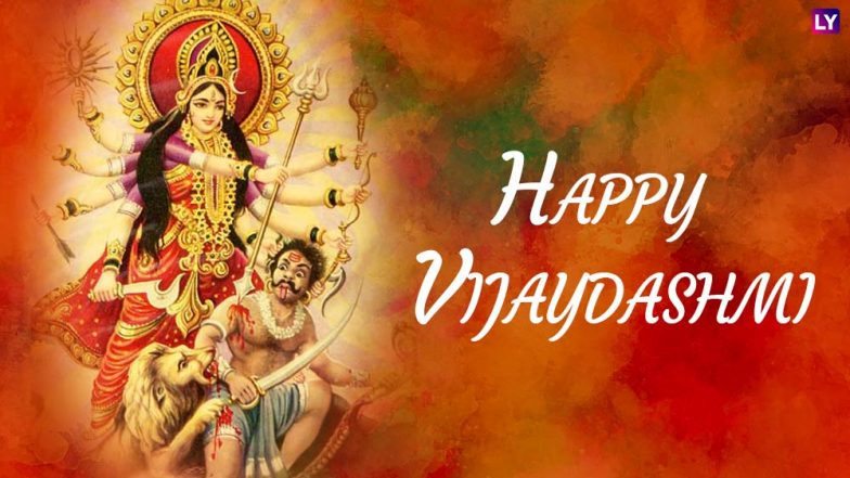 Vijayadashami 2018 Wishes and Subho Bijoya HD Images: Best WhatsApp Messages & Status, SMS, GIF Images & Facebook Quotes to Send Happy Vijayadashami Greetings