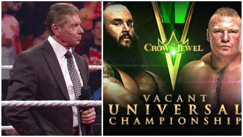 WWE Crown Jewel Event in Saudi Arabia to Go On As Scheduled: Read Official Statement