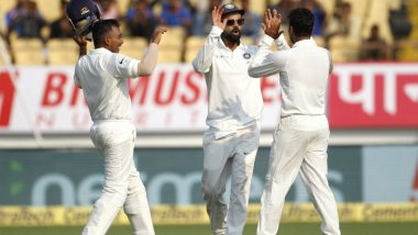 WI 295/7, Stumps | Live Cricket Score India vs West Indies, 2nd Test 2018, Day 1: Teams Share Honours On First Day, Roston Chase Remains Unbeaten on 98*