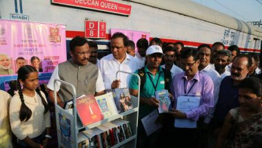 Indian Railways Introduces 'Library On Wheels' Service to Offer Passengers Free Books on Trains