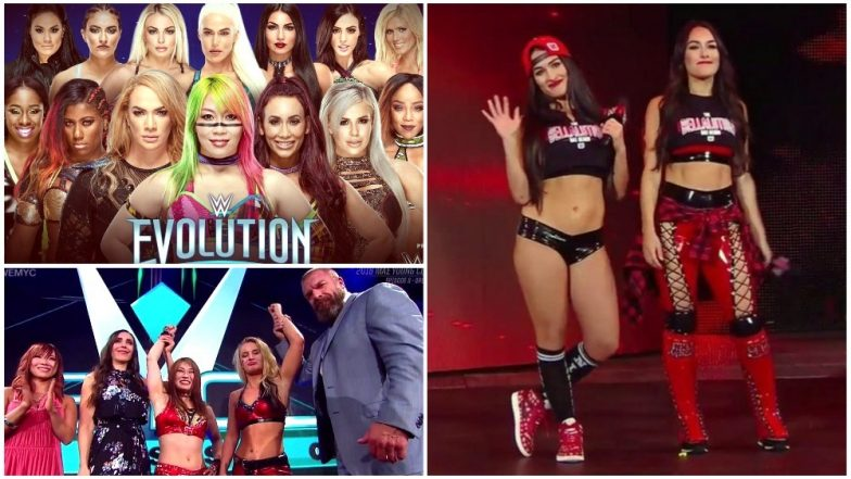 WWE Evolution Updated Match-Card: Check Schedule and List of All Matches to Take Place WWE's First-Ever All-Women's PPV Event