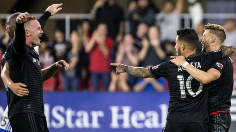 Wayne Rooney Scores an Unbelievable Free-Kick Goal to Help DC United Surge Ahead in Eastern Conference, Watch Video