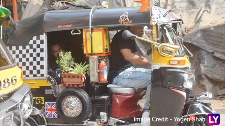 These Pics of Will Smith Driving an Auto Rickshaw in the City Further Prove His Love for Our Country