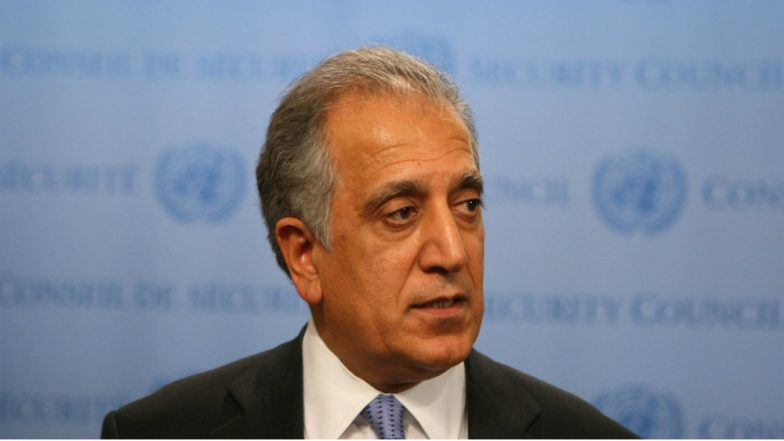 US Special Envoy to Afghanistan Zalmay Khalilzad to visit India