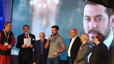 Ali Abbas Zafar Awarded for Promoting Tourism Through Salman Khan Starrer Tiger Zinda Hai