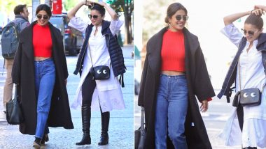 Priyanka Chopra and Alia Bhatt Strolling on the Streets of NYC Will Make You Miss Your BFF! (Video and Pics)