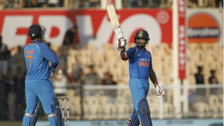 Ambati Rayudu Scores Century in 4th ODI Against West Indies; Virat Kohli Backs Batsman to Play at No.4 till 2019 World Cup