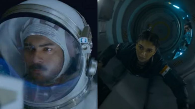 Antariksham 9000 KMPH Teaser: Aditi Rao Hydari and Varun Tej's Space Adventure Film Has Impressively Stunning Visuals – Watch Video