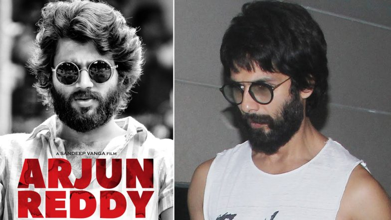Shahid Kapoor Is Getting Into the Arjun Reddy Groove As He Nails the Look – View Pics