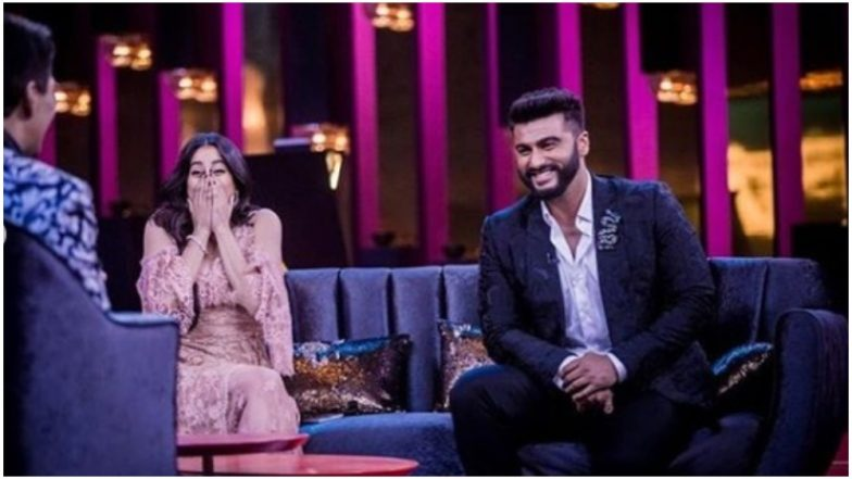 Koffee With Karan Season 6: Get Ready For Janhvi And Arjun Kapoor's Emotional Episode With Karan Johar - See Pics