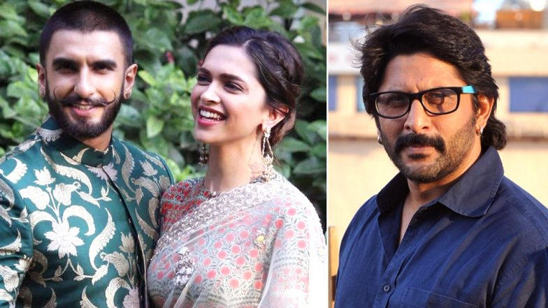 Arshad Warsi Reveals One of The Many Reasons why he Thinks Deepika Padukone is in Love with Ranveer Singh and We Couldn't Agree More