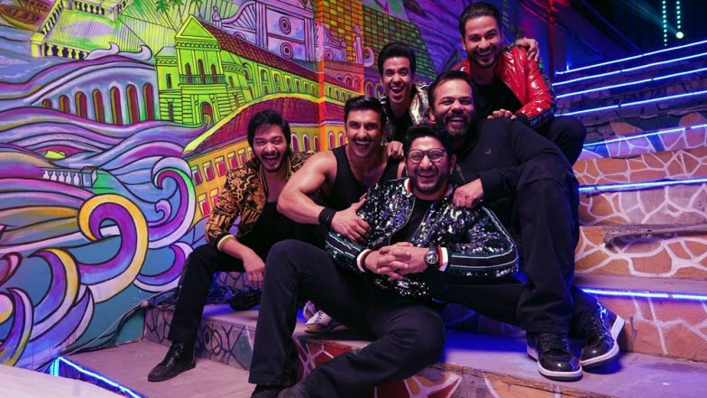 Simmba: Ranveer Singh and Sara Ali Khan Shoot a Dance Sequence With Team Golmaal and It's Got Our Excitement Piqued! – Watch Video
