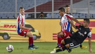 ISL 2018-19 Video Highlights: Rowlin Borges Last Minute Goal Gives ATK Second Consecutive Defeat; NorthEast United Leads the ISL Points Table