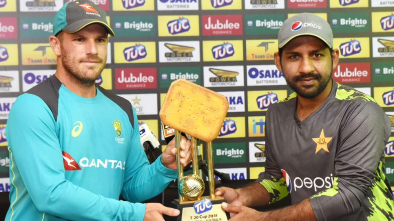 Pakistan vs Australia T20 2018, TUC Cup 2018: ICC Savagely Trolls PCB For its Biscuit-Shaped Trophy With a Clever Word Play
