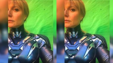 Avengers 4: Gwyneth Paltrow Turns Superhero – View Pic in Iron Armour