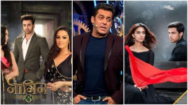BARC Report Week 40: Naagin 3 Continues to Rule While Salman Khan's Bigg Boss 12 and Kasautii Zindagii Kay 2 Fail to Make It to Top 10 Shows