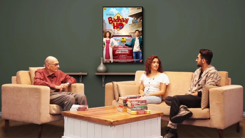 Famous Sexpert Calls Ayushmann Khurrana Immature As Sanya Malhotra Laughs On in This Funny Video