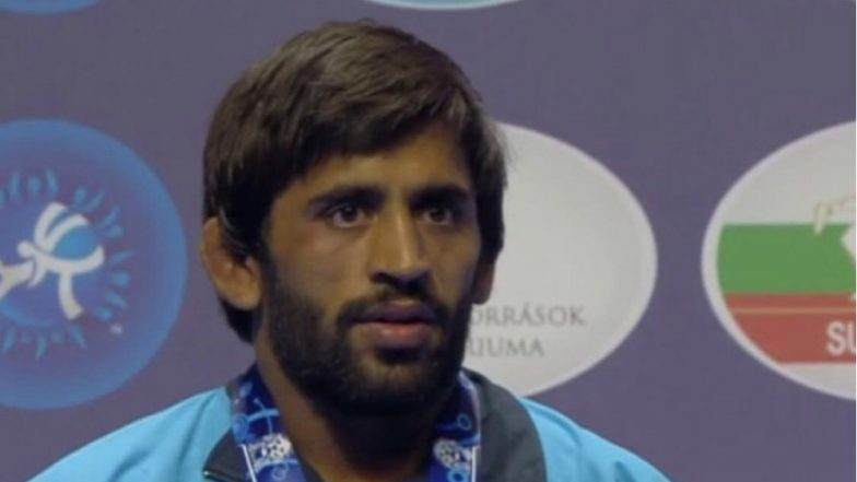 Will Continue to Do My Best, Says Wrestler Bajrang Punia