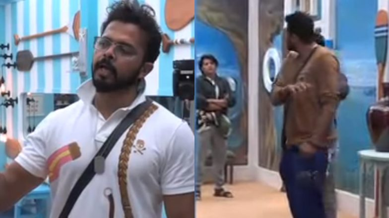 Bigg Boss 12: Romil Choudhary Threatens to Slap Sreesanth – Watch Video