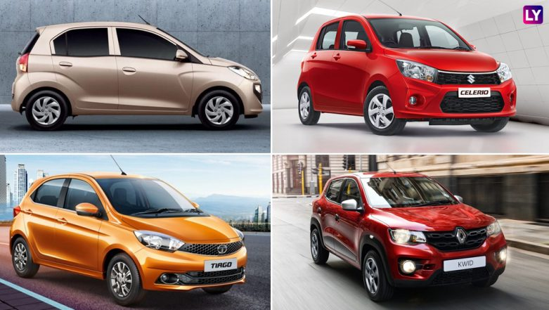 Hyundai Santro 2018 vs Maruti Celerio vs Tata Tiago vs Renault Kwid: Price in India, Specifications, Features - Comparison
