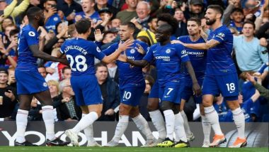 Chelsea Defeat Crystal Palace 2-0 to Register Their Sixth Straight Victory in Ongoing Premier League 2019–20, Move to Second Position in Points Table Standings