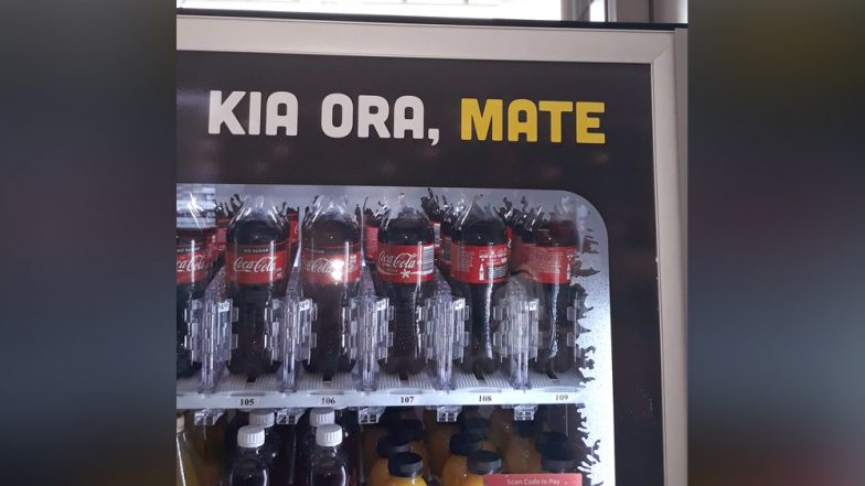 'Hello Death' Coca-Cola Goes Hilariously Wrong When Mixing English & Maori Languages on It's Vending Machine