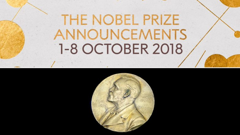 2018 Nobel Prize: Watch Live Streaming of Prestigious Award Season, Know All the Winners From Peace to Medicine Online
