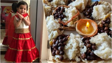 Durga Ashtami 2018 Kanjak Puja Food Recipe: Tutorials on How to Make Kala Chana, Poori & Suji Halwa This Navratri Festival