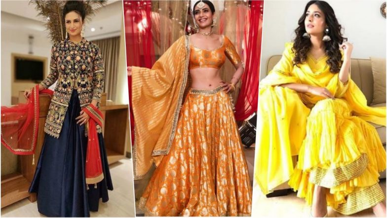 Karva Chauth 2018 Fashion Inspiration: From Karishma Tanna to Divyanka Tripathi, Let These TV Actresses Show You How to Amp Up Your Traditional Style