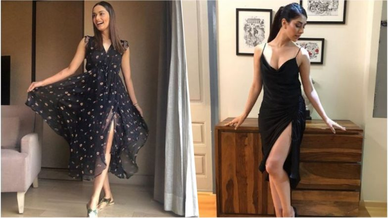 Manushi Chillar Vs Warina Hussain: Who Slayed in a Thigh-High Slit Black Dress? (See Pics)