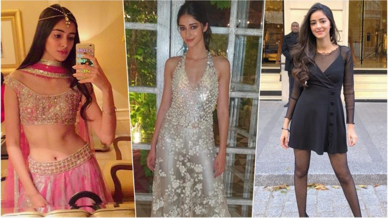 Ananya Panday Turns 20: From Shimmery Gowns to Traditional Outfits, 5 Times the Birthday Girl Inspired With Her Sartorial Choice (See Pics)