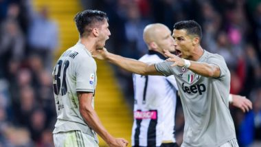 Cristiano Ronaldo Scores a Goal for Juventus Against Udinese Amidst Rape Allegations! (Watch Video)