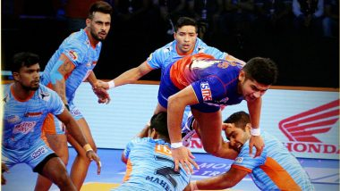 PKL 2018–19 Video Highlights: Dabang Delhi Beat Bengal Warriors 39–30; Bengal's First Defeat of the Season